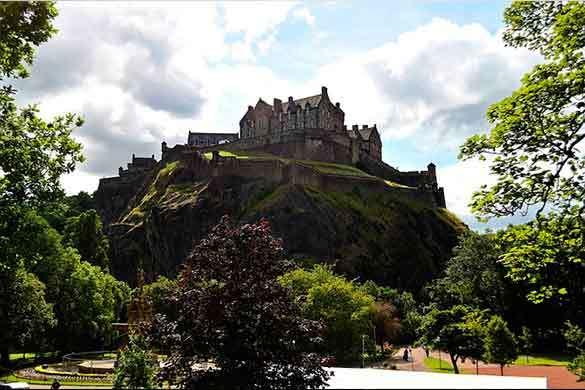 Edimburgo Castillos fin de curso