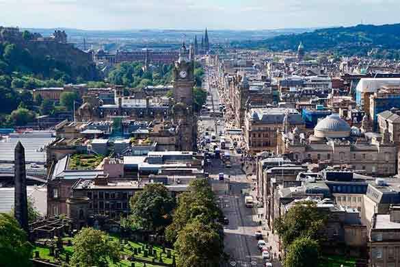 Edimburgo viajes fin de curso colegio