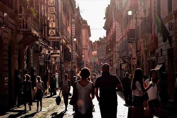 Viajes para escolares Roma y Nápoles