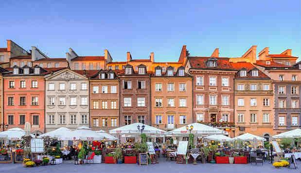 Varsovia paquete viaje de fin de curso